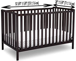 size of crib mattress